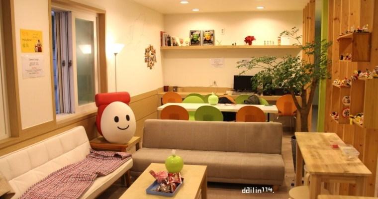 釜山住宿》南浦洞 便宜背包客住宿雞蛋先生的Mr. Egg Hostel Original Nampo(南浦店) 미스터에그 호스텔 오리지널 남포