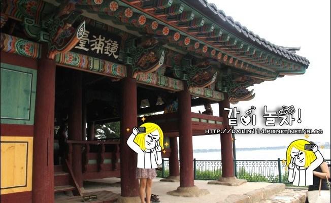 韓國江陵》這次真的有背包客的感覺了我在강릉경포대(江陵鏡浦臺)睡著了!!