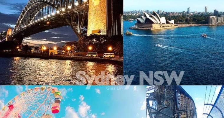 雪梨一日團 悉尼一日遊》雪梨自由行 攀爬雪梨港灣大橋(Sydney Harbour Bridge)之雪梨市區走到斷腿+雪梨港灣河畔白天夜晚都好美+月光樂園(LunaPark)