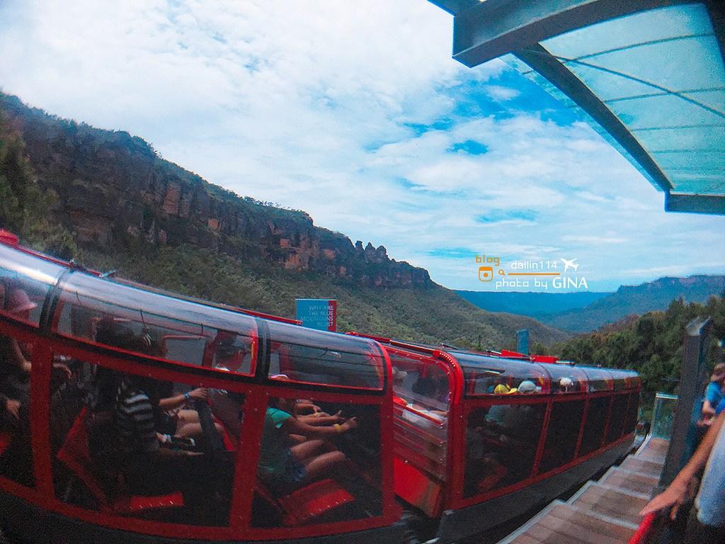 雪梨一日團 悉尼一日遊》藍山(Blue Mountains)一日遊 Leura小鎮喝早茶 + 景觀纜車 (Scenic World Rides) 超陡景觀鐵道火車 (Scenic Railway)+超多汁牛肉三明治