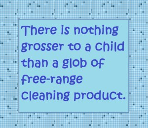 Humor Funny Parenting toothpaste cleaning products mess ceiling observant child Moms Dads Kids children Family Life love