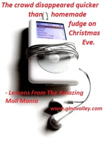 Humor Funny Humorous Family Life Love Laugh Laughter Parenting Mom Moms Dad Dads Parenting Child Kid Kids Children Son Sons Daughter Daughters Brother Brothers Sister Sisters Grandparent Grandma Grandpa Grandparents Grandfather Grandmother Parenting Gina Valley Totally Lessons From The Great Mall Mania Christmas Shopping