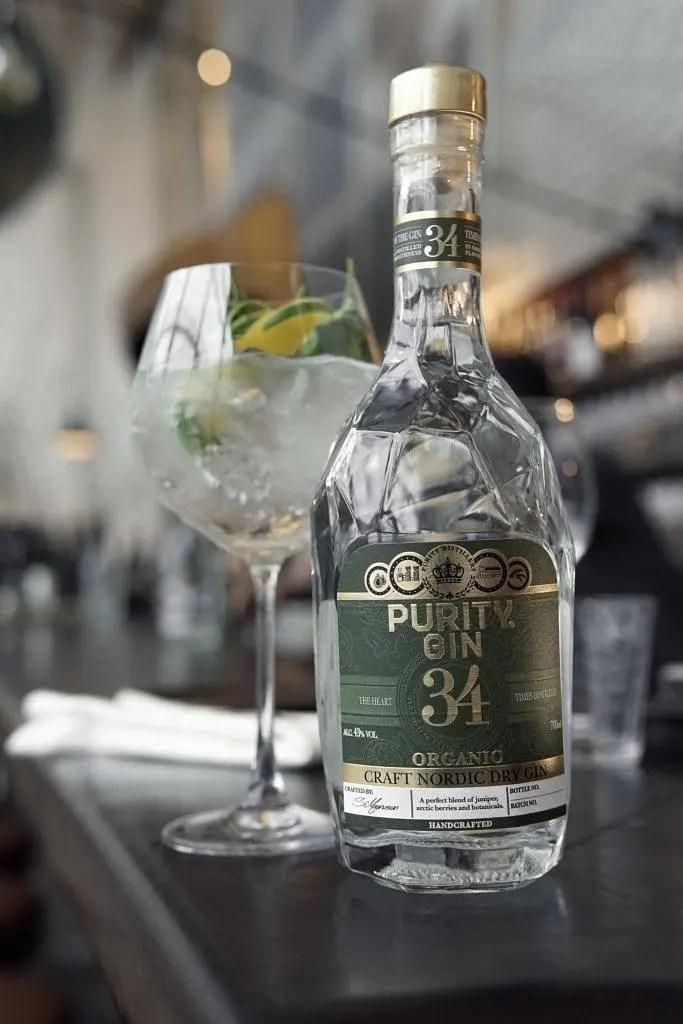 Billede af Purity dry gin og gin og tonic rosmarin