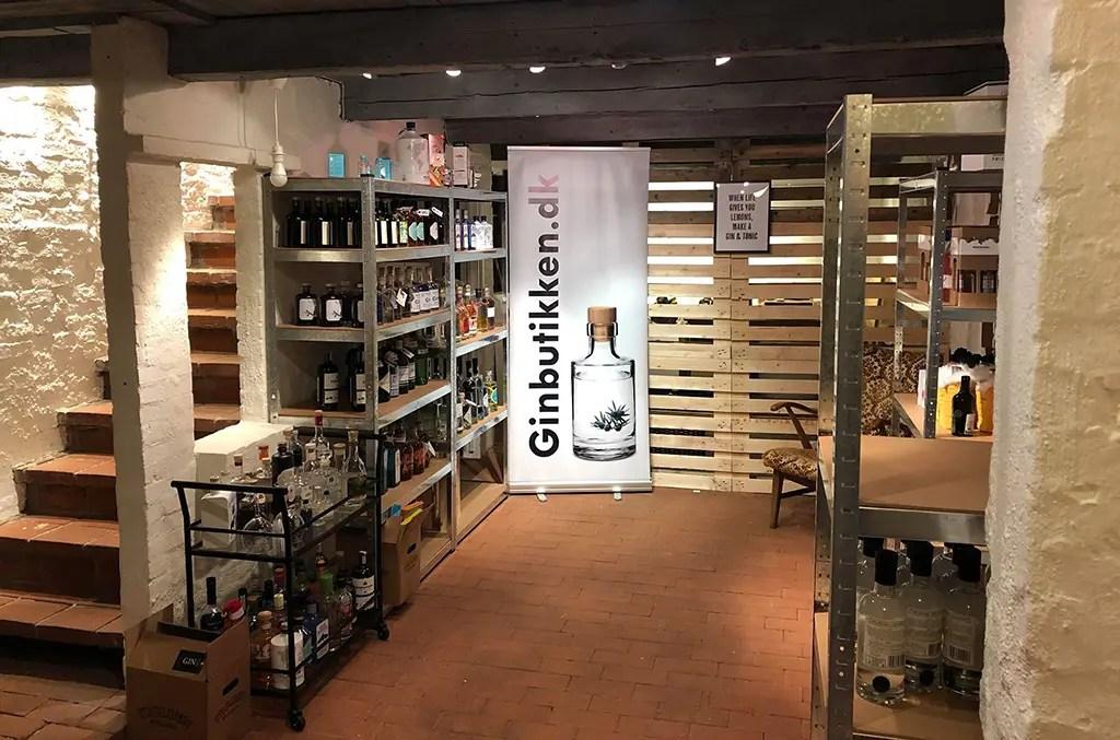 Billede af Ginbutikken i Haslev