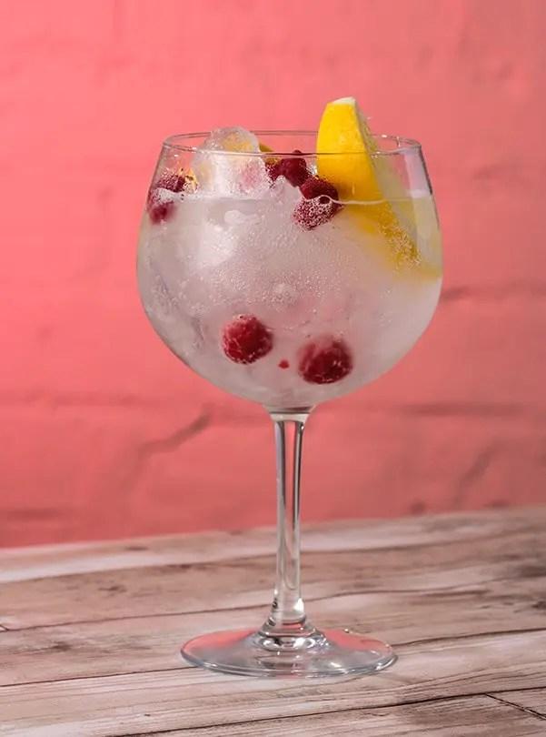 Serveringsforslag Whitley NEill Raspberry Gin