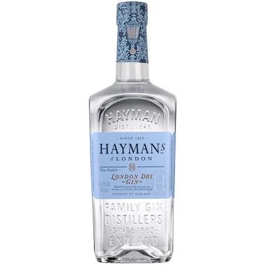 Billede af en flaske Haymans london dry gin