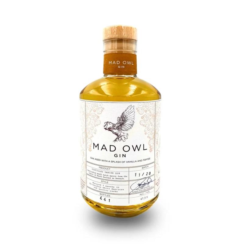 Billede af en flaske Mad Wol Oak Aged Gin