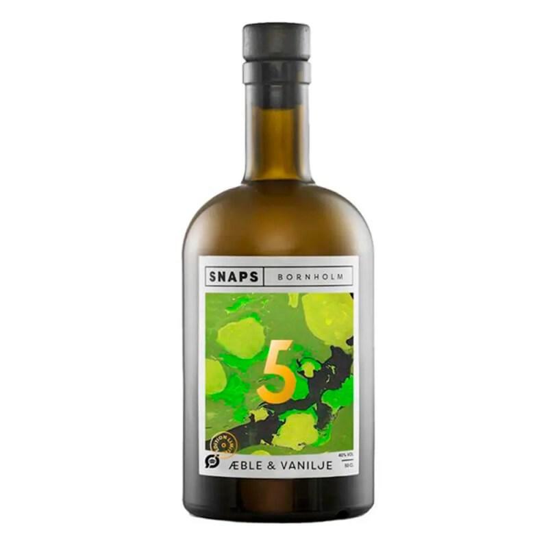 Snaps Bornholm Æble Vanilje