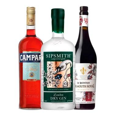 Billede af Ginbutikkens Negroni-pakke