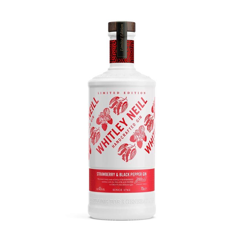 Billede af Whitley Neill Strawberry Black Pepper Gin