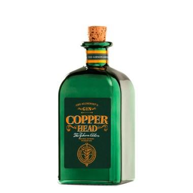 Billede af en flaske Copperhead Gin Gibson Edition