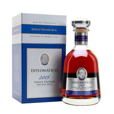 Billede af den fantastiske Diplomatico Single Vintage Rum 2005