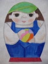 Solo pintado (con crayolas)