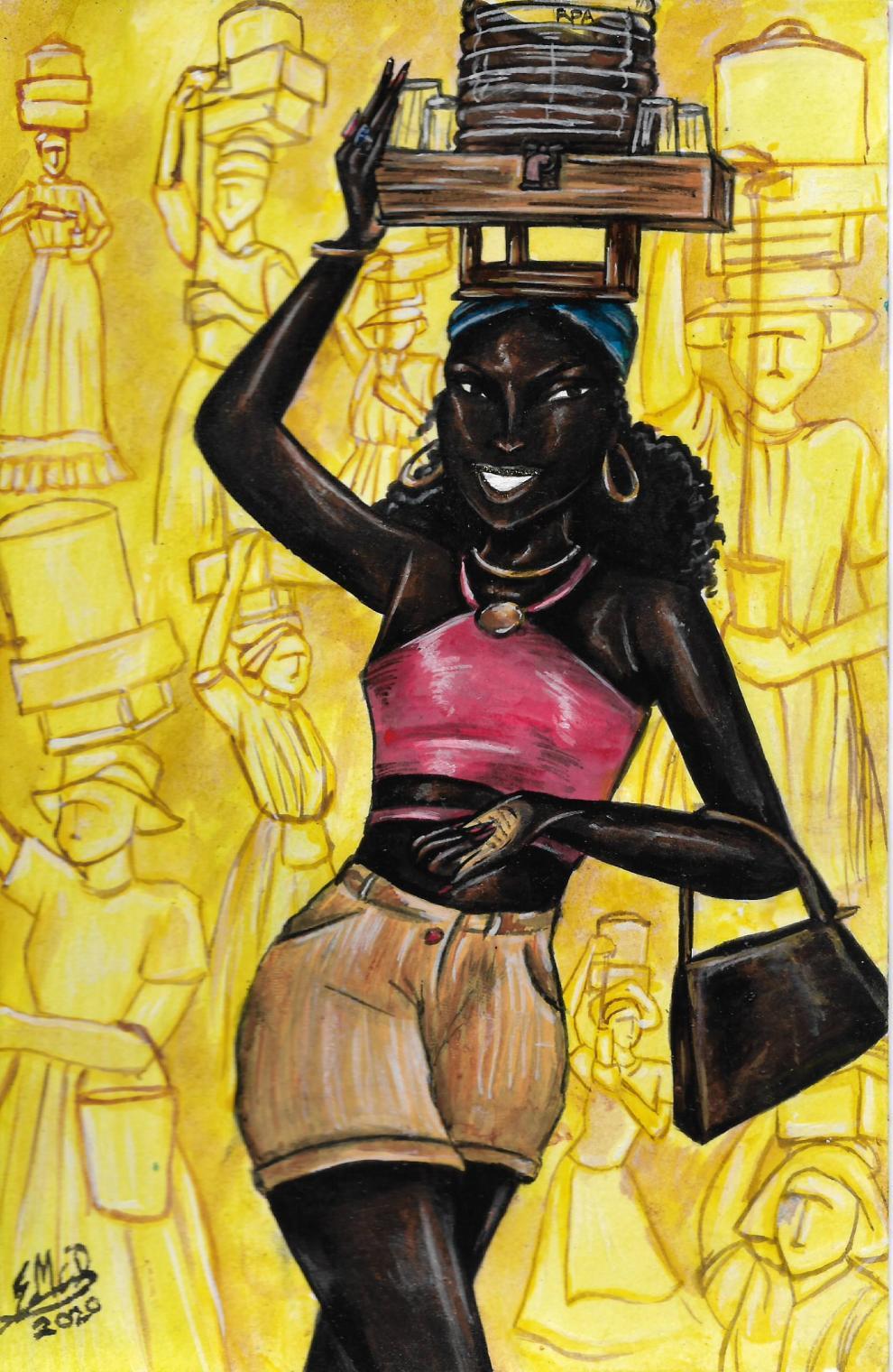 Mauby Woman