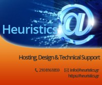 Heuristics, hosting, design & technical support