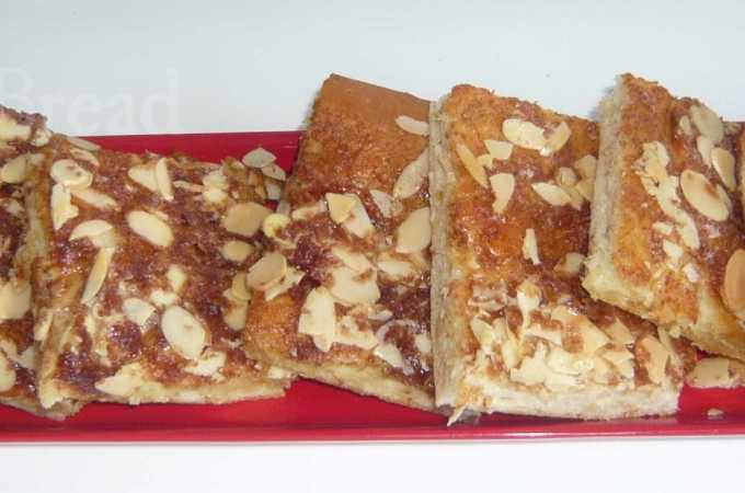 Cake with Cinnamon and Almonds – Butterkuchen