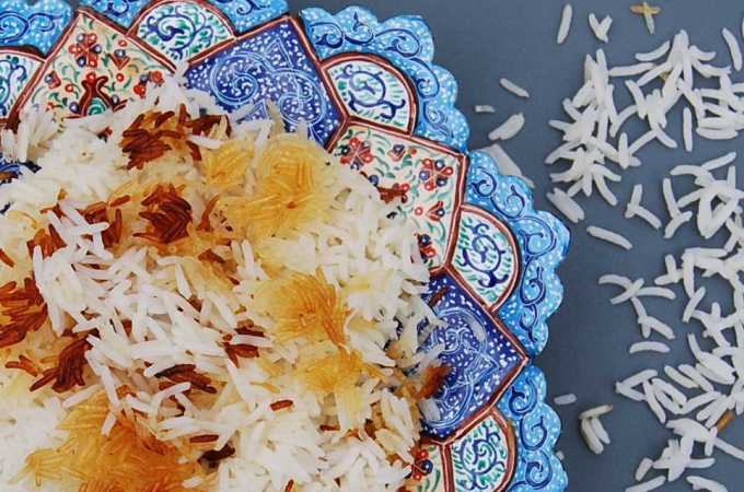 Iran: Chelo Rice – the one with the slightly burnt bottom