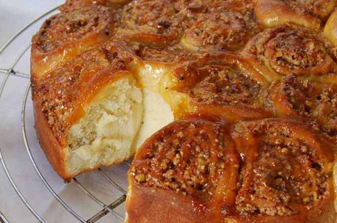 Chelsea Buns, With a Nutty  Twist