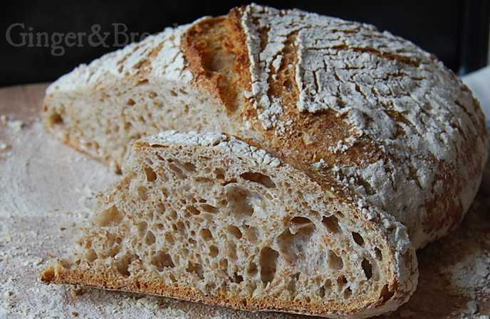 Everyday Wholewheat Sourdough