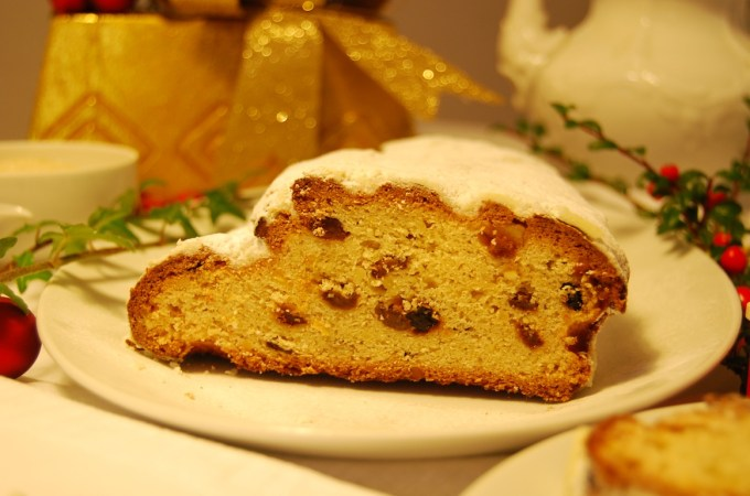 Stollen, Christmas in Form of a Sweet Bread