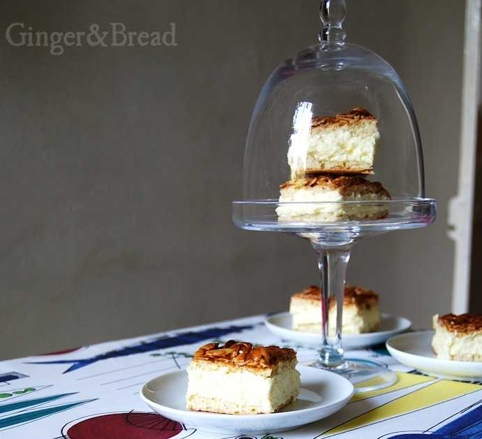Bee Sting Cake honey topped
