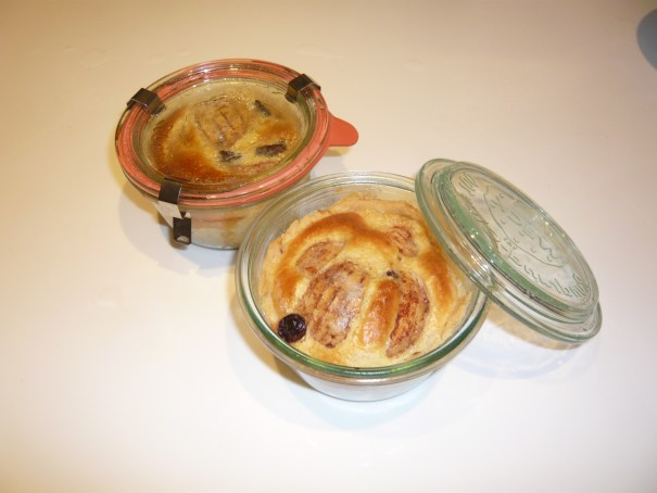 Miniapfel im Glas