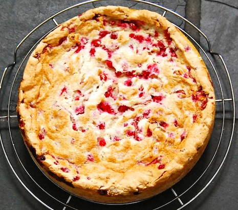 Red Currant Cake Träubleskuchen