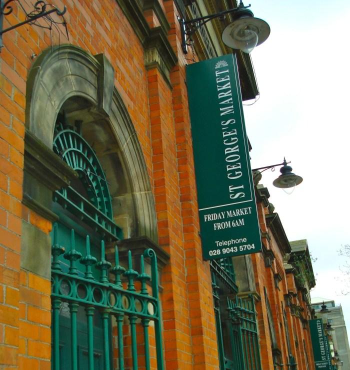 Belfast St Georges Market 1
