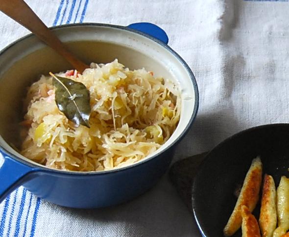 Schupfnudeln and Sauerkraut 1