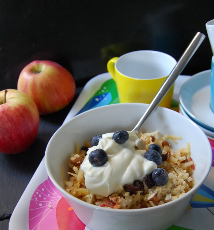 Bircher Muesli blueberry