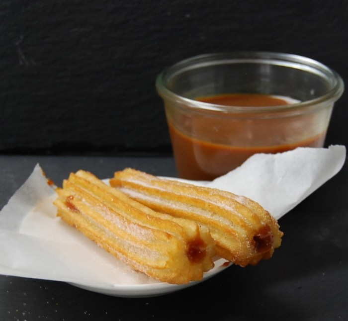 Dulce de Leche-filled churros 1