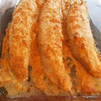 Creamy Parmesan-Crusted Turkey Tenderloins