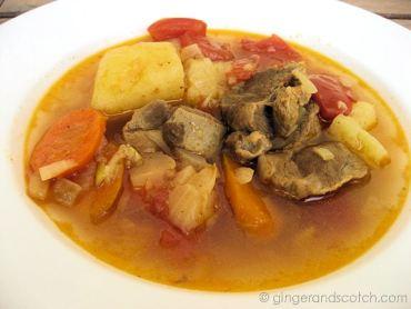 Emirati Recipe: Meat Stew (La-Ham Murraq / Saloona)