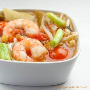 Quick and Easy Vietnamese Sweet and Sour Soup