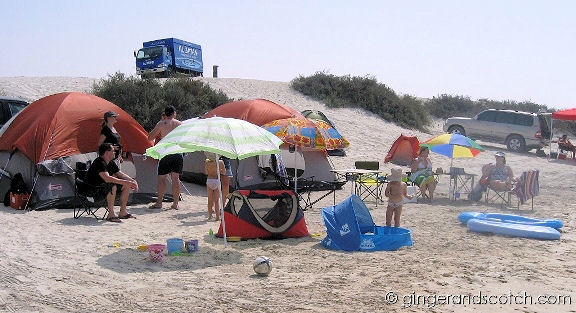Camping at Jebel Ali Beach