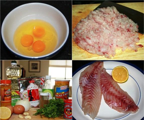 Emirati Fish Cake Ingredients
