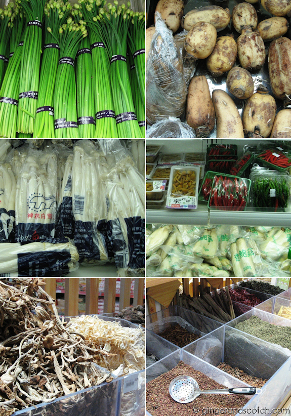 Chinese Vegetables and Spices - Dubai grocery store