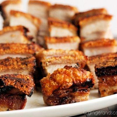 "Chinese Roast Pork Belly – ""Siew Yoke"""