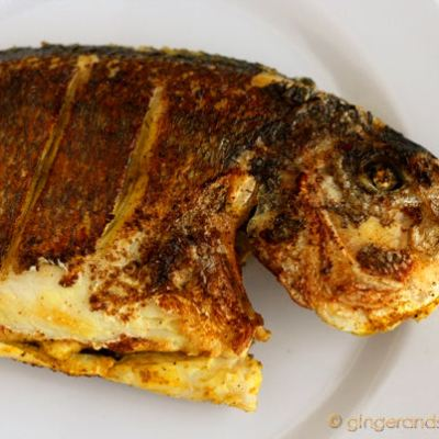 Emirati Recipe: Fried Fish (Sa-mak ma-ga-lee)
