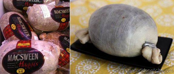 Haggis from Park and Shop