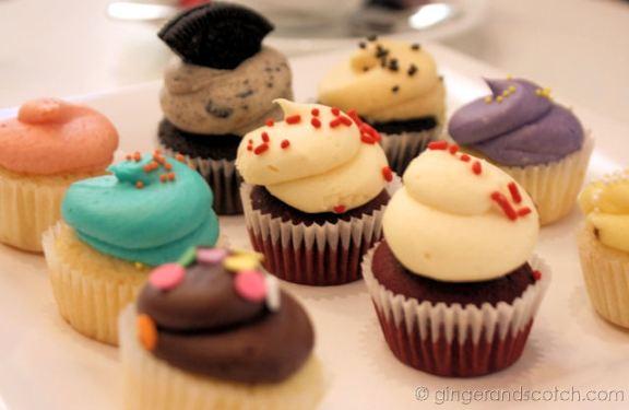 mini cupcakes @ Sugar Daddy's
