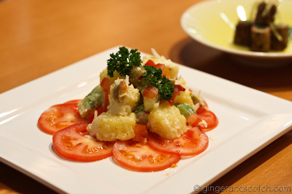 Tomato Potato Salad