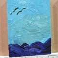 Painting at Abu Dhabi Art 2