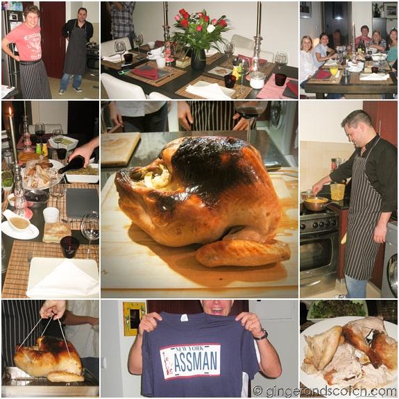 Thanksgiving in Dubai 2009