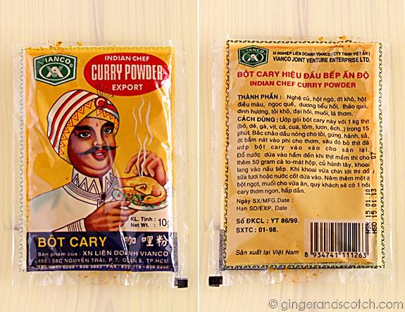 Vietnamese Curry Powder from Vietnam