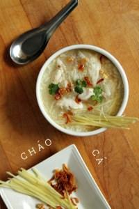 Chao Ca Vietnamese Fish Porridge