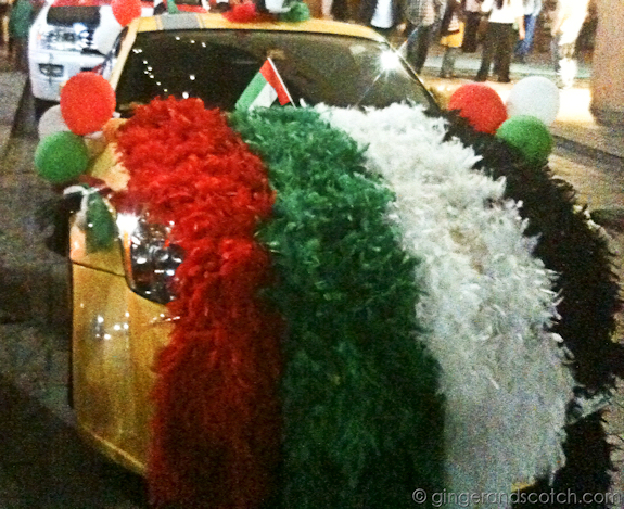UAE National Day Decor