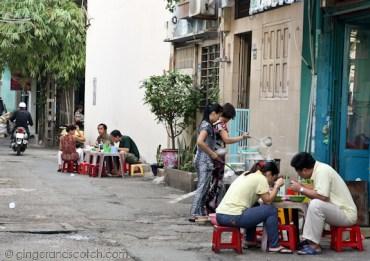 Pho Vendor in Vietnam