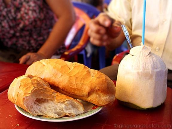 Saigon bread