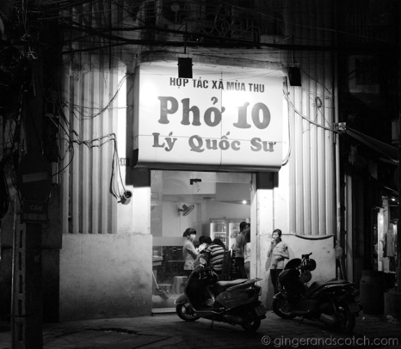 Pho in Hanoi 2